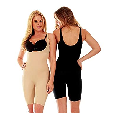 THE GURU SHOP Women's Shapewear Full Body Shaper Women's Innerwear/Body Shaping Suit to Shape The Entire Body/The Full Body Shaper Bodysuit Shapewear ThighTrimmer Lift Firm Slim Control Shaper (XXL/XXXL)