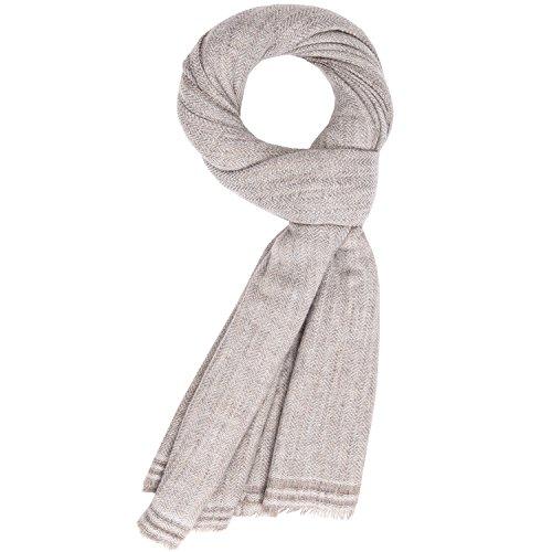 Mode Kaschmir Schal Frauen Weiche Wolle Schal Dicke Decke Pashmina Dunkel Beige