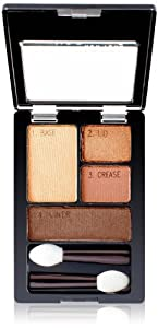 Maybelline Expert Wear Eyeshadow Quads, Sunlit Bronze, 5ml