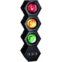 TIP 3767 Party - Torre de luz y sonido para fiestas (3 x 40 W, E27, 230 V), color negro