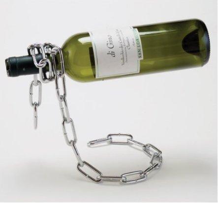 UChic 1 ST�CKE Eisen Weinregale Kette Magische Kette Weinflasche Stehen Metall Weinhalter Home...