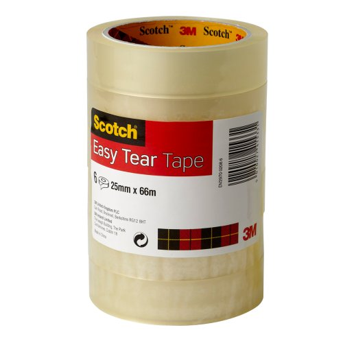 scotch-easy-tear-tape-25-mm-x-66-m-clear-pack-of-6-rolls