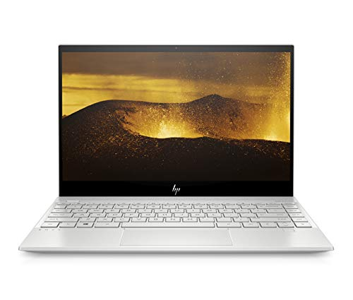 HP ENVY 13-aq0001ng (13,3 Zoll / Full HD IPS) Notebook (Intel Core i5-8265U, 8GB DDR4 RAM, 256GB SSD, Intel UHD Grafik 620, Windows 10 Home, FPR) silber