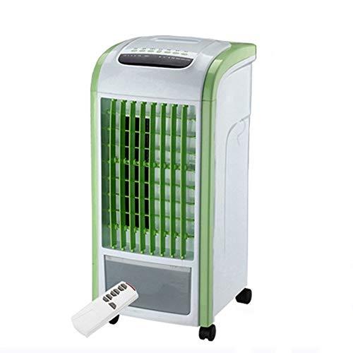 Kreative Mini-Klimaanlage Fan/Student Dorm Room Cool Fan/Fernbedienung Kleine Befeuchtung Kühlschrank/Einfache Bladeless Cold Air Fan (Farbe: Grün, Größe: Fernbedienung)