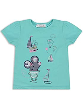 The Essential One - Baby Kinder Mädchen - T-Shirt - Grün - EOT342