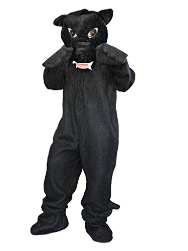 Gruppe Kostüm Katzen - Panther- Kostüm-e Zo02 Gr. M-XL, Kat.