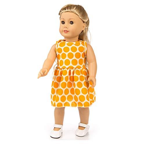 Zolimx Kleid Für 18-Zoll-American Doll Accessory Girl's Spielzeug Mädchen Puppenkleidung