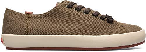 CAMPER Herren Peu Rambla Vulcanizado Sneaker, Grün (Medium Green 310), 44 EU -