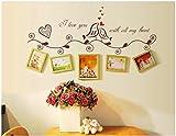 ZBYLL Wall Sticker Mode lieben Vögel Angebote Vinyl Sticker für Hochzeit Dekoration Bilderrahmen Dekoration dekorativ Home Aufkleber Wandmalerei Kunst