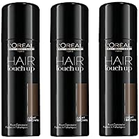 L'Oreal Hair Touch Up Light brown 75ml kit 3 pcs
