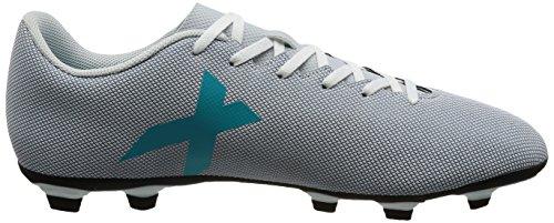 adidas Herren X 17.4 FxG Fußballschuhe Mehrfarbig (Ftwr White/energy Blue /clear Grey )