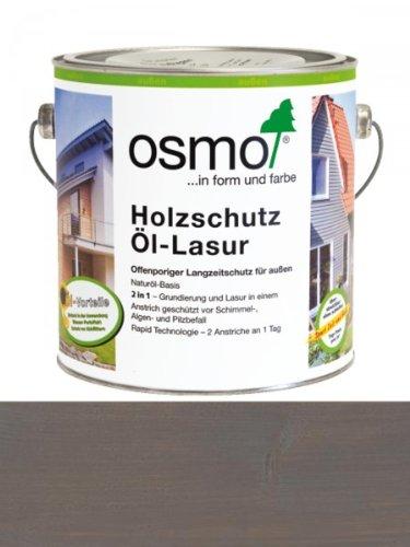 OSMO Holzschutz Öl-Lasur 2,5 Liter Patina 905
