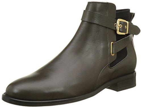 Buffalo London Damen ES 30780 Sauvage Klassische Stiefel, Grau (Antracite 01), 37 EU (Buffalo Leder)