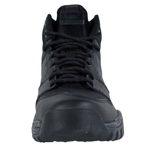 Nike Jungen Dual Fusion Hills Mid (Gs) Wanderschuhe Black (Schwarz / Schwarz-Schwarz-Anthrazit)