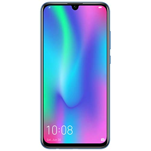 HONOR 10 Lite Dual SIM, 64 GB storage, 24 MP Front Camera with 6.21 Inch Full View Display, UK Official Device – Sapphire Blue