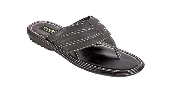 La Guardian Faux Leather Black Sandals
