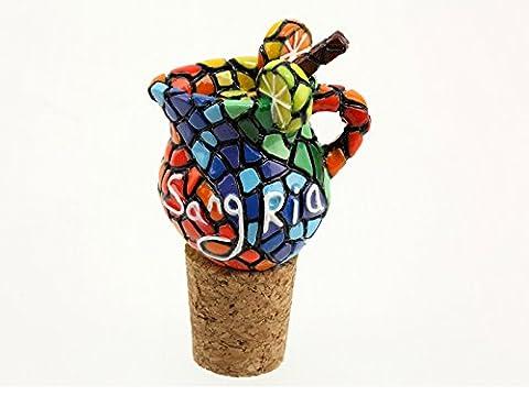Char Renault - BOUCHON de bouteille en liège ceramique Mosaique