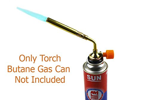 Active Elements Multipurpose Imported Butane Heat Gun / Torch. Handy Tool For Copper Pipe Welding & Brazing, Camping, Jewelry Repair Work.