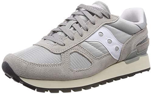Saucony Shadow Original Vintage, Zapatillas de Gimnasia Unisex Adulto, Gris (Grey/White 1), 42.5 EU