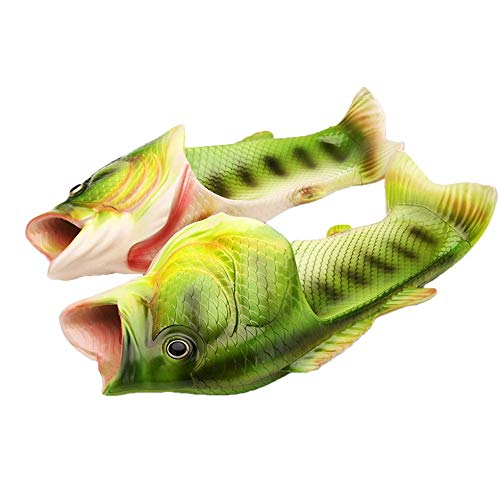 Eegwbang Zapatillas Mujer Moda Forma pez Chanclas