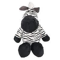 zcm Plush toy 25cm Zebra Animals Dolls Cartoon Plush Toys For Children Soft Pp Cotton Animal Doll Children