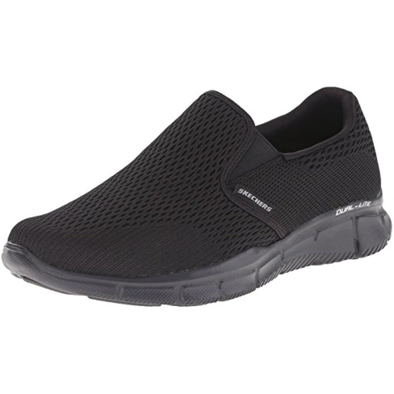 Skechers égaliseur Double Play, Chaussures de Fitness Fitness Fitness pour Homme - Noir - Noir, 42 EU 2E - B01LW6ADQ6 - d3ded5