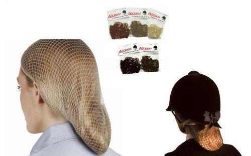 standard hairnet - dark brown (dunkelbraun)