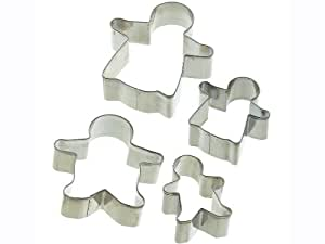 Gingerbread Family Cutters- set of four