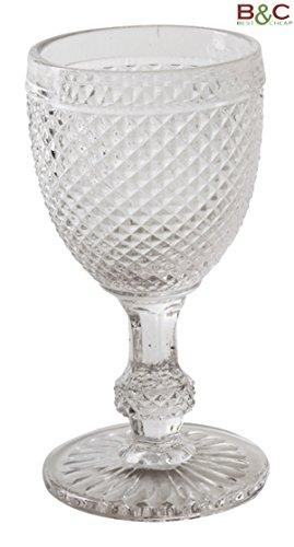 Slim Juego de 6Copas de Cristal Clear Diamond–Tamaños Color c