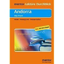 Max Frisch: Andorra - Buch mit Info-Klappe: Inhalt - Hintergrund - Interpretation