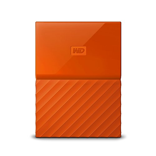 Preisvergleich Produktbild WD My Passport 3TB Portable Hard Drive and Auto Backup Software for PC,  Xbox One and PlayStation 4 - Orange