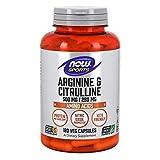 Los puntos fuertes de Arginine & Citrulline 500/250mg de de la marca Now Food:-1dosis = 1500mg de Arginine y de Citrulline.- Elimina el exceso de ammoniac- alienta la síntesis de los protéines- permite aumentar el rendimiento de sus physique...