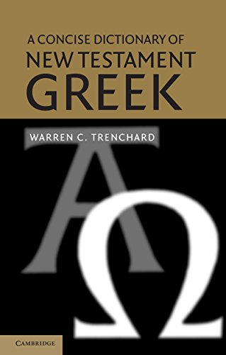 Descargar PDF A Concise Dictionary of New Testament Greek