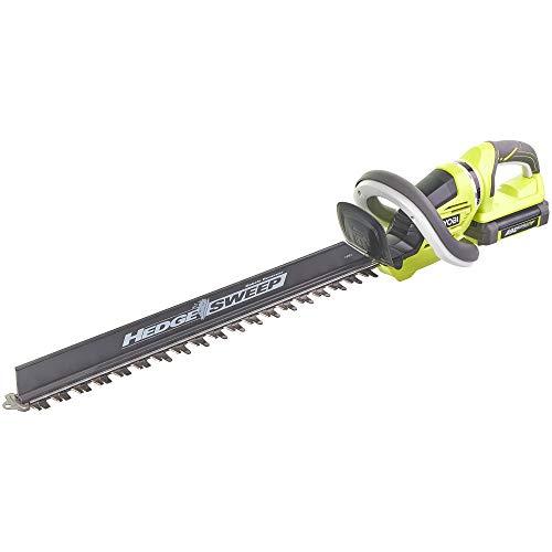 Ryobi RHT36C61R15S - Cortasetos eléctrico hoja de sierra de 60 cm, con hoja de sierra,...