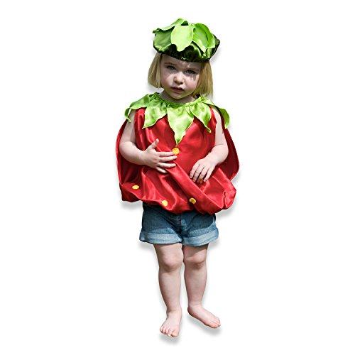 Infant Lucy Locket-Baby-Kostüm Erdbeere (9+ Monate)
