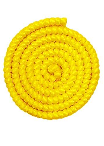 Struts Fancy Dress Falsche Haare hell gelb Krepp Wolle No21