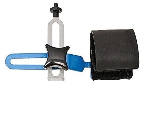 Unior Pocket Wheel Truing Tool - Silver/Black/Blue, 18.5 x 12.5 cm