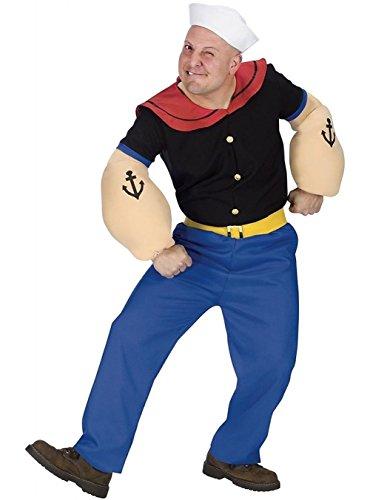 Mesky Cosplay Kostüm Party und Halloween Verkleidung Sailor Suit Seemann Uniform ()