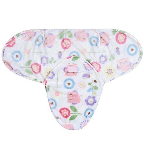 dexinghaoye Soft Unisex Baby Newborn Infant Swaddle Wrap Decke Schlafsack für 0–12Monate, Flanell, eisbär, 32cm x 50cm