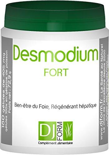 Desmodium Fort 180 gélules - Extrait Concentré - Bien-être du Foie, Détox, Régénérateur...