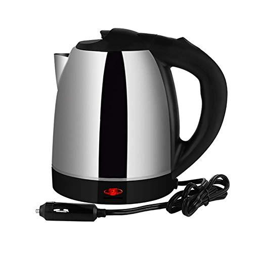 RUIX Auto Wasserkocher,Auto Elektrische Tasse 12 V Heißwasserflasche Große Kapazität, Edelstahl