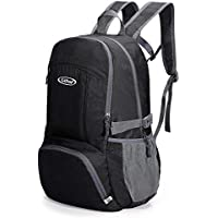 G4Free Foldable Ultralight Rucksack Water Resistant Portable Backpack  Multipurpose Daypacks for Outdoor Walking Camping Traveling Cycling e391698dc2bfe