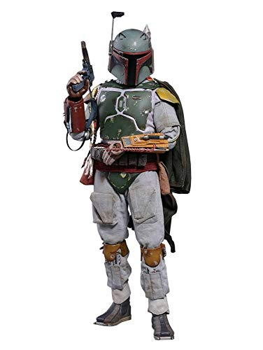 Hot Toys HT903352 Boba Fett Star Wars Episodio V: The Empire Strikes Back-Movie Masterpiece Series - Figura Coleccionable (versión Deluxe),, 30 cm
