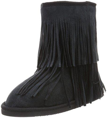 CanadiansBoots - Stivali a metà gamba con imbottitura pesante  Donna , Nero (Schwarz (000 BLACK)), 39 EU