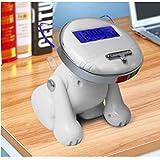 LKJH Despertador digital Reloj Despertador Digital Inteligente de 12/24 Horas para Habitaciones con batería de Respaldo, Reloj de Escritorio para niños Ciego como Gato Lindo Que Habla