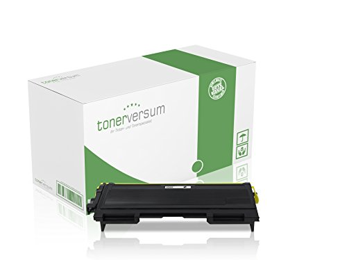 Tonerversum Premium XXL Toner-Kartusche (Schwarz), kompatibel zu Brother TN-2000, Druckerzubehör, Patrone für Drucker & Faxgeräte von Brother & Lenovo