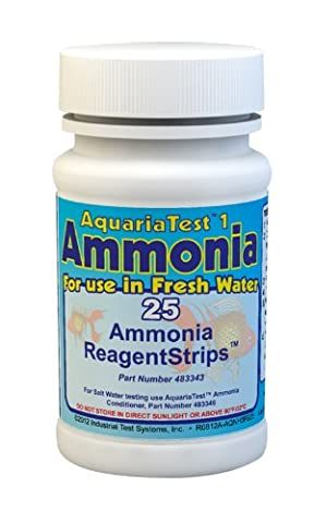 AquariaTest 1 Ammonia Water Test Strips (25 tests) 483343