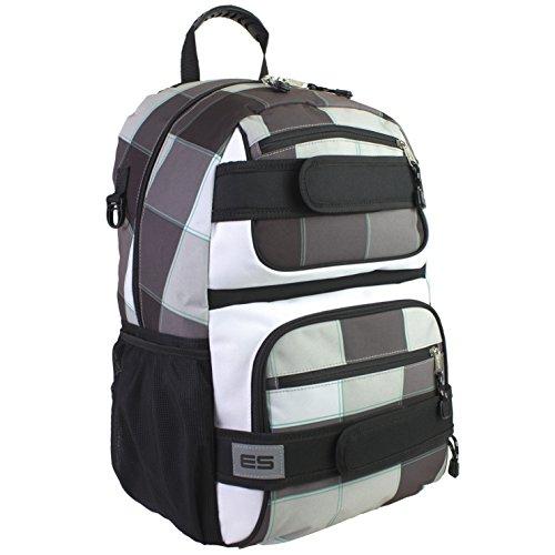 eastsport-eastsport-skater-backpack-ub5-unisex-erwachsene-daypack-schwarz-weiss-mehrfarbig-116910pw-
