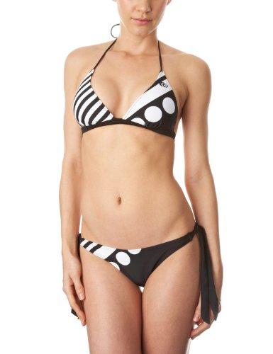 Ripcurl Santa Monica Damen Bikini Solid schwarz Schwarz