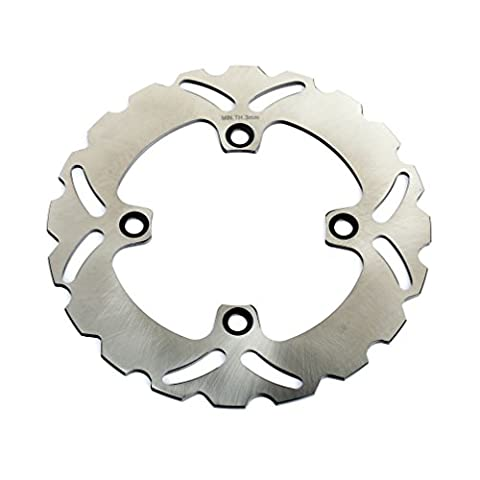 TARAZON Rear Brake Disc Disk Rotor for Kawasaki Ninja ZX6R 600 98 01 ZX6R 636 02 13 ZX6RR 03-06